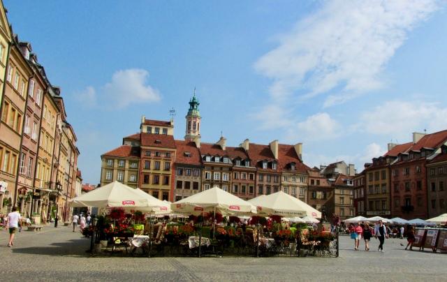 old town Warsaw Poland europe