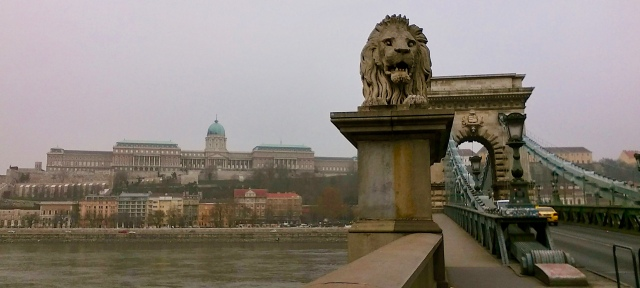 chain bridge Budapest Hungary travel