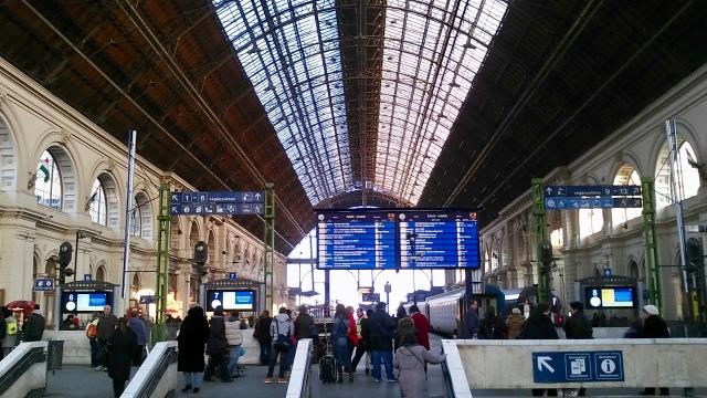 train station Budapest