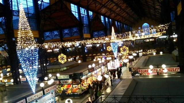 central market hall Budapest Hungary