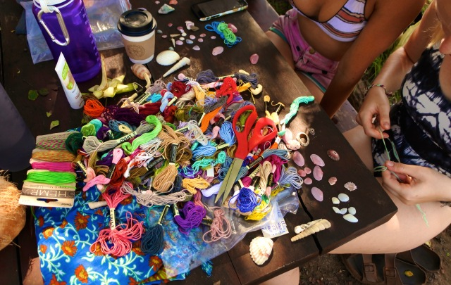 dreamsea surf camp Costa Rica crafts art