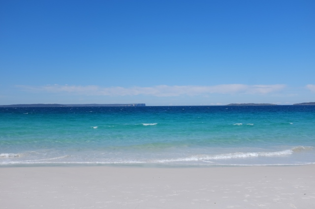 Jervis bay, white sand, new South Wales, travel in Australia