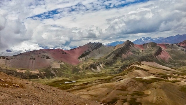 rainbow mountain Peru photography