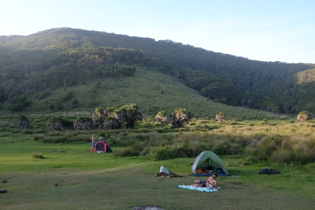 camping royal national park Australia north era campground