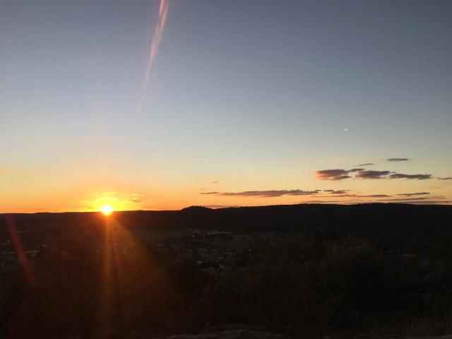 sunset Stanthorpe