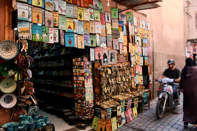 marrakech medina travel