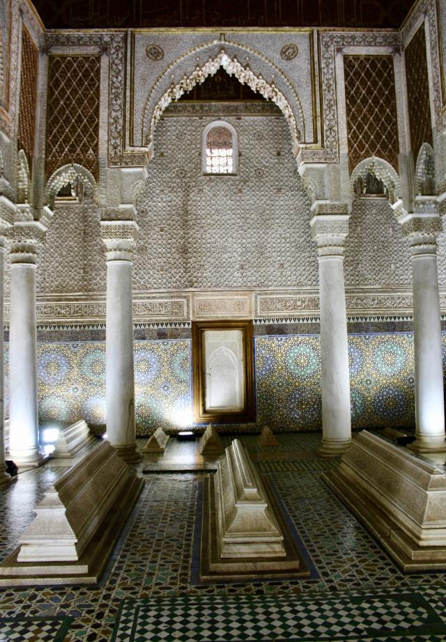 marrakech saadiens tombs