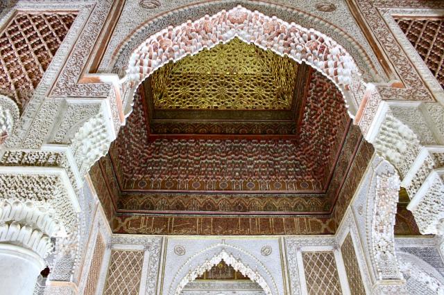 marrakech morocco tombs
