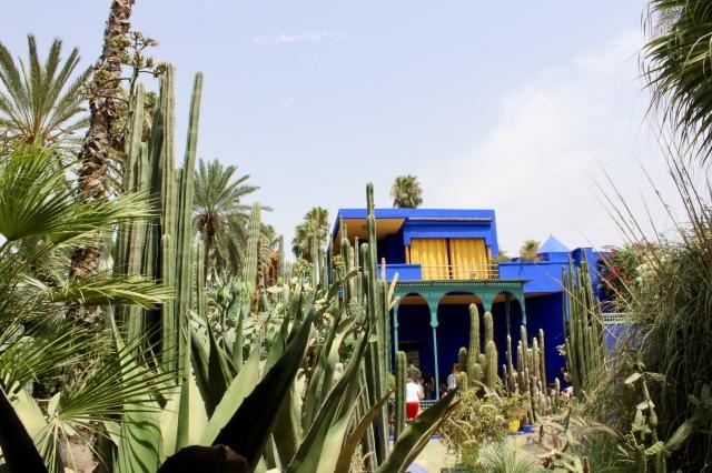 marrakech morocco jardin majorelle