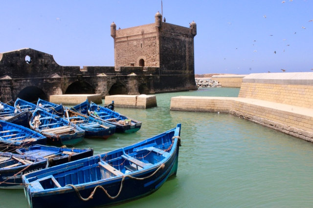 essaouira, morocco harbor