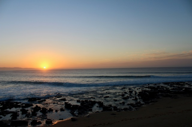 sunrise jeffreys bay