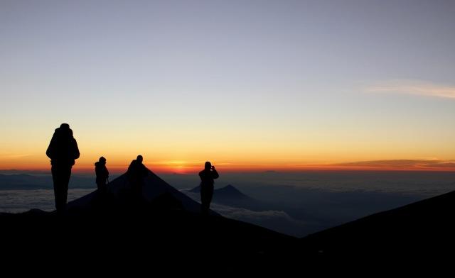 group sunrise