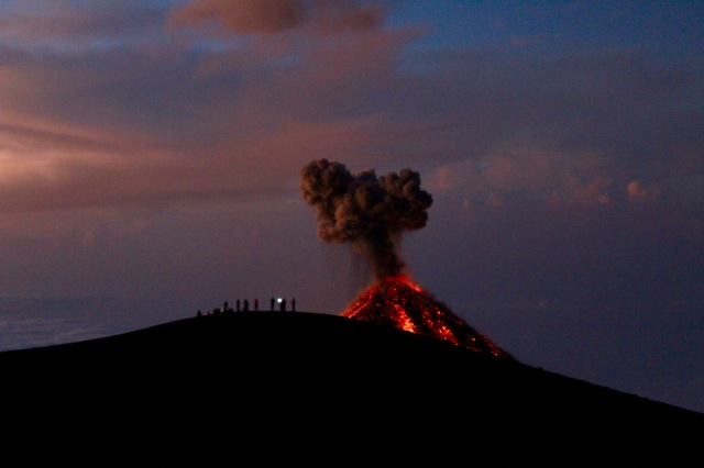 sunrise fuego lava