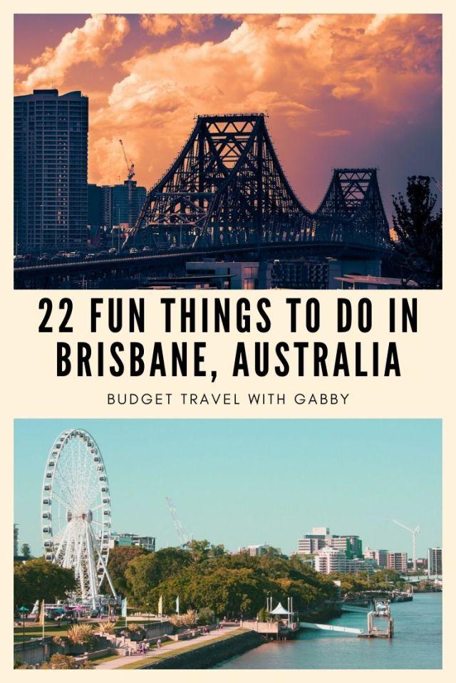BEST THINGS TO DO IN BRISBANE AUSTRALIA