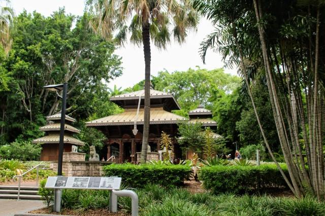nepalese peace pagoda brisbane south bank