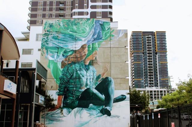 street art brisbane city